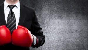 A marketer giving the 1-2 punch to content marketing